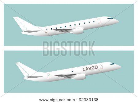 Passenger Aircraft And Cargo Aircraft