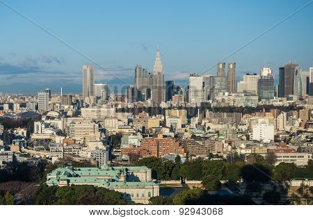 Aerial View In Tokyo