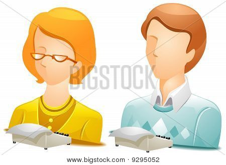 Stenographer Avatars