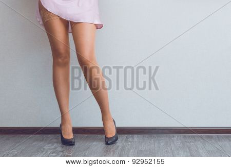 Young Lady's Legs