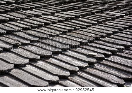 Traditional Wooden Roof Tile