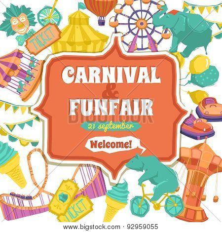 Fun Fair And Carnival Poster