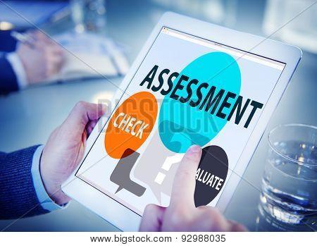 Assessment Calculation Estimate Evaluate Measurement Concept