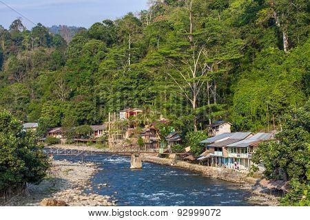 Bukit lawang village, Sumatra, Indonesia