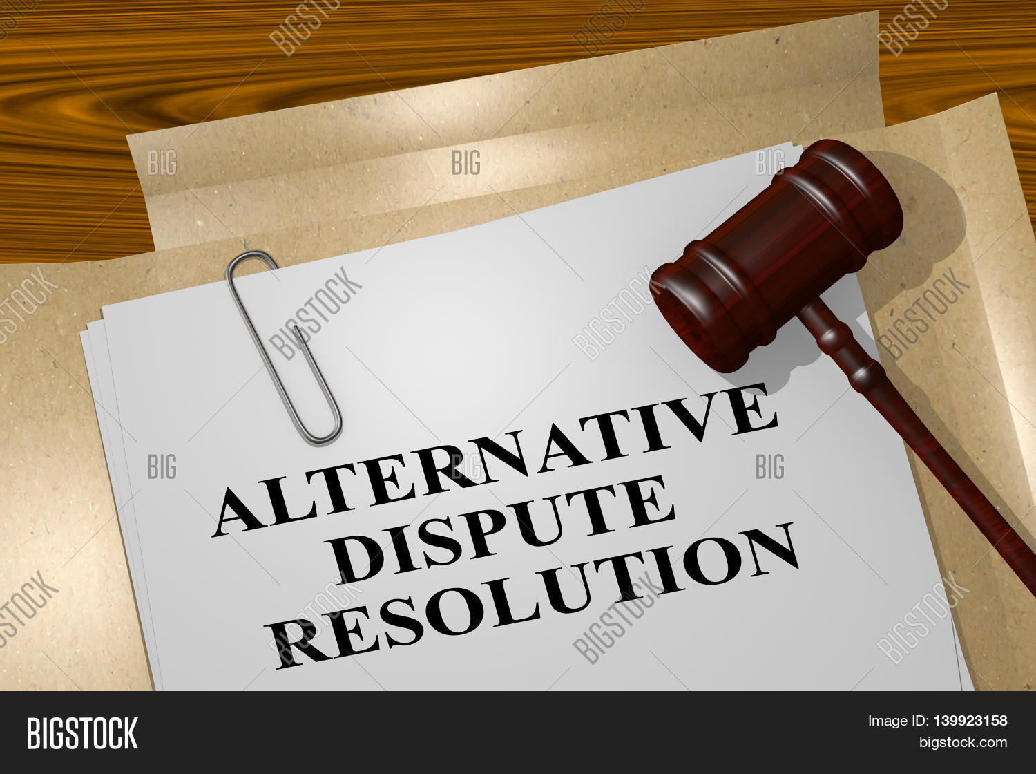 alternative dispute resolution 1 Alternative dispute resolution (adr) refers to any means of settling disputes outside of the courtroom adr typically includes early neutral evaluation, negotiation, conciliation, mediation, and arbitration.