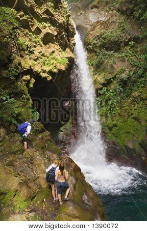 Oropendola Waterfall In Costa Rica