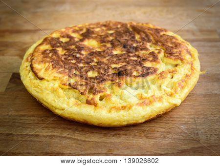 Spanish Tortilla, Spanish Omelette Tortilla De Patata.