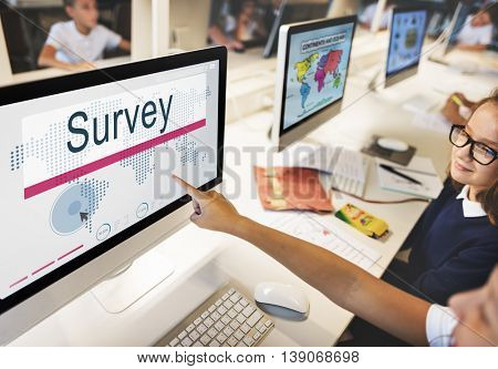 Survey Solutions Survey Information Feedback Concept