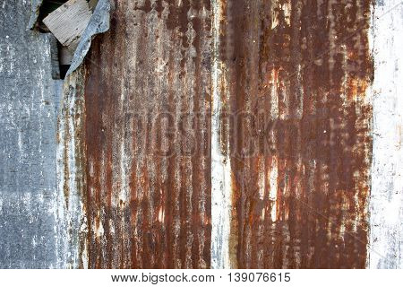 A nice metal corroded texture background outside