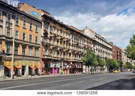Rakoczi Street, Budapest