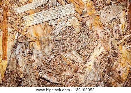 woodchips compressed together for background and texture