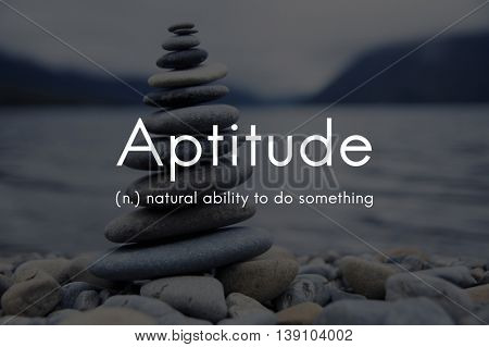 Aptitude Natural Human Ability Graphic Concept
