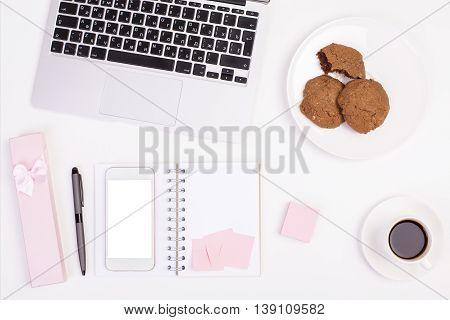 Girly Office Desk