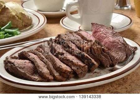 Sliced Roast Beef Sirloin