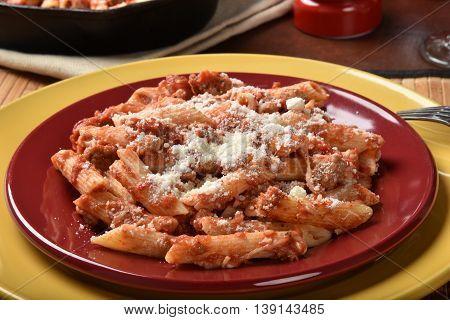 Gourmet Mostaccoli