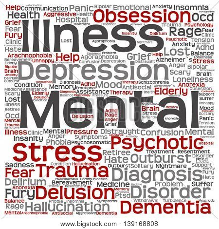 mental disorders These mental disorders include anxiety disorders, depression, behavioral disorders, thought disorders, and substance-abuse disorders.