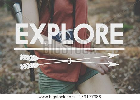 Explore Adventure Traveling Exploration Journey Concept