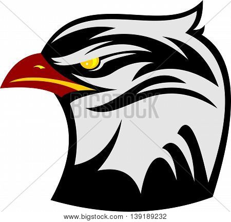 stock logo hawk bird element illustration abstract
