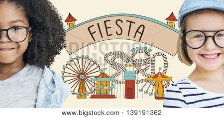 Fiesta Celebrate Enjoyment Event Fiesta Happiness Concept