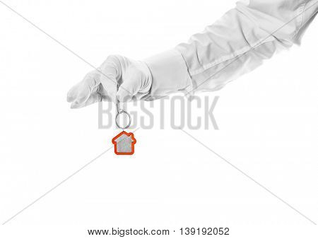 House key in hand butler