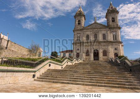 The Igreja do Bonfim (Church of Bonfim), on Rua do Bonfim in Porto, Portugal.