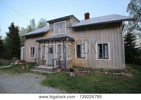 Spoekpraestgaard, A Haunted Clergy House, In Borgvattnet In Sweden