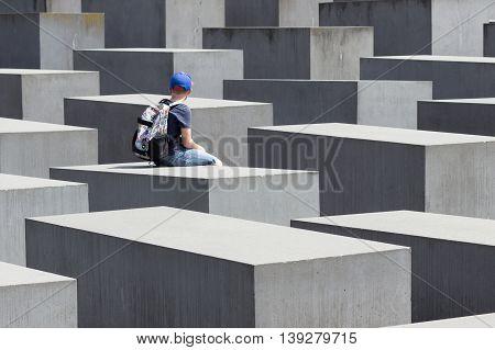 Holocaust Memorial / Jewish Memorial In Berlin