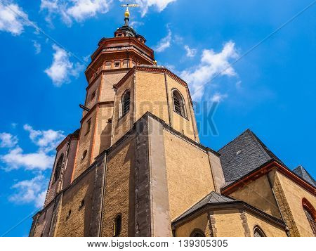 Nikolaikirche Leipzig Hdr