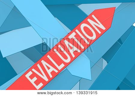 Evaluation Arrow Pointing Upward