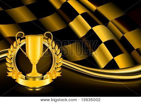 Champion Background, vector