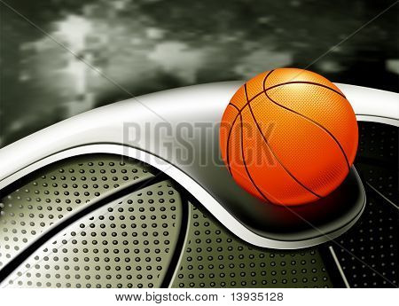 Sports Background, Basketball