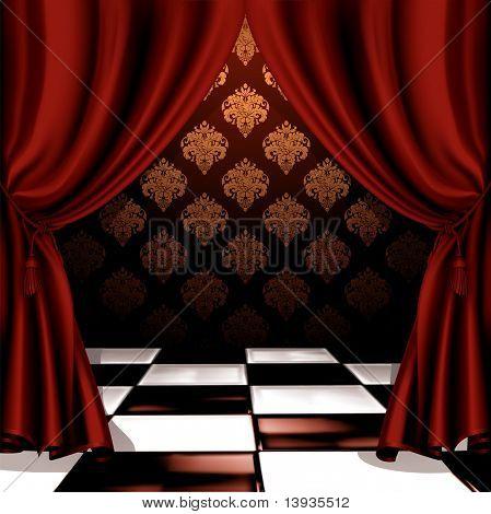 Royal room, vector