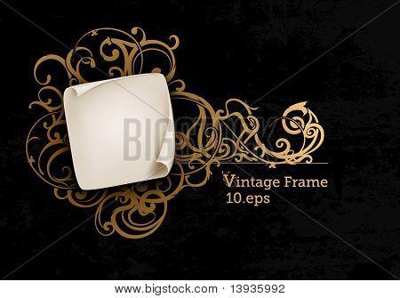 Vintage Frame, eps10
