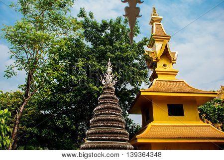 Wat Rong Khun, Aka The White Temple. Chiang Rai, Thailand.