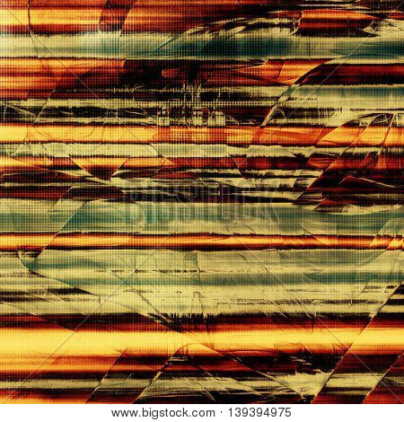 Abstract colorful background or backdrop with grunge texture and different color patterns: yellow (beige); brown; gray; black; red (orange); cyan