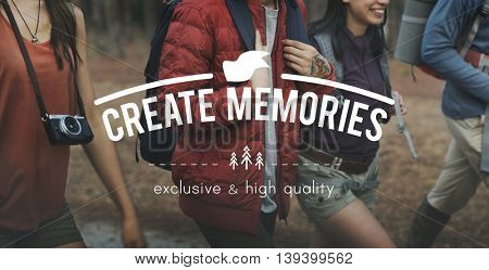 Create Memories Collection Recalling Concept