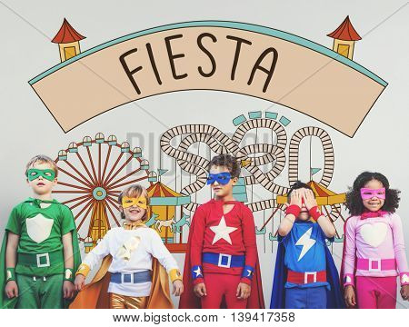 Fiesta Celebrate Enjoyment Event Fiesta Happiness Concept