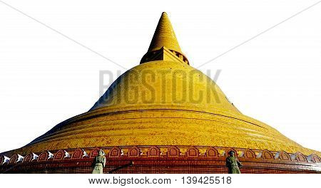 Isolated Grand Pagoda Temple