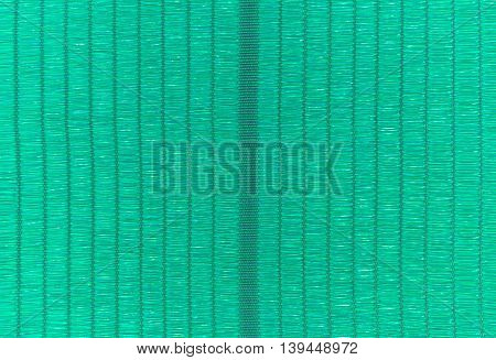Texture Of Green Cavas Pattern For Background
