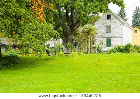 Portsmouth, Nh, Usa - September 30, 2012: Strawbery Banke Is An Outdoor History Museum