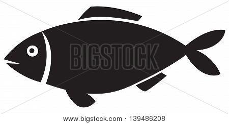 fish icon computer icon symbol simplicity sparse animal