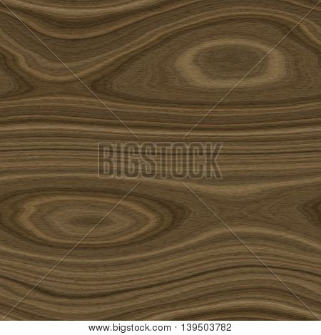 Seamless tiling brown wood texture or background