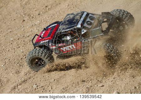Crawler Having Some Fun In The Dirt