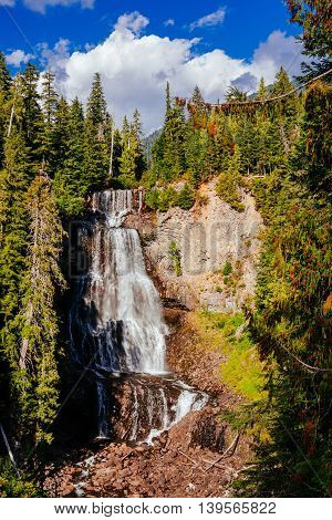 Alexander Falls, British Columbia, Canada