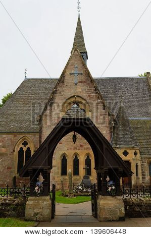 Old Church From Scotland