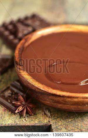 Chocolate Ganache.