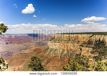 View From Maricopa Point To The Grand Canyon