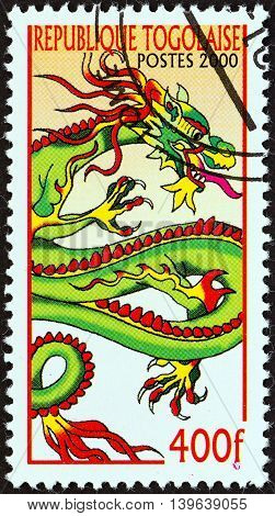 TOGO - CIRCA 2000: A stamp printed in Togo from the