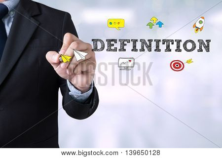 Definition Word, Business Concept