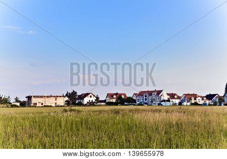 Beautiful Housing Area In Munich In Nature